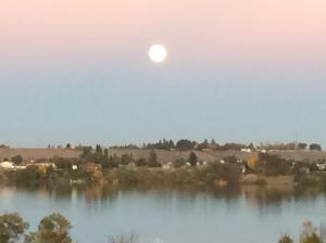 Moses Lake moon
