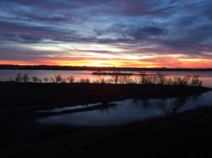 moses lake sunrise