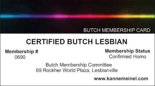 butch card