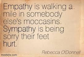 sympathy empathy