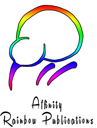 affinity logo in white